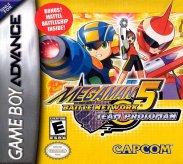 Mega Man Battle Network 5 - Team Proto Man (Game Boy Advance (GSF))