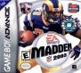 Madden NFL 2003 (Game Boy Advance (GSF))