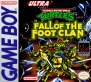 Teenage Mutant Ninja Turtles - Fall of the Foot Clan (Game Boy (GBS))