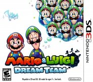 Mario & Luigi - Dream Team (Nintendo 3DS (3SF))