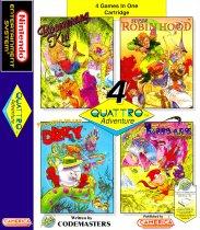 Quattro Adventure - Treasure Island Dizzy (Nintendo NES (NSF))