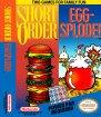 Short Order & Eggsplode (Nintendo NES (NSF))