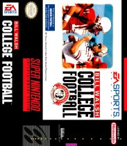 Bill Walsh College Football (Nintendo SNES (SPC))
