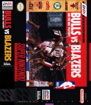 Bulls vs. Blazers and the NBA Playoffs (Nintendo SNES (SPC))