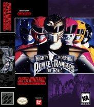 Mighty Morphin Power Rangers - The Movie (Nintendo SNES (SPC))