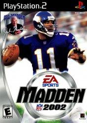 Madden NFL 2002 (Playstation 2 (PSF2))
