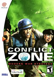 Conflict Zone - Modern War Strategy (Sega Dreamcast (DSF))