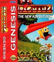 Pac-Man 2 - The New Adventures (Sega Mega Drive / Genesis (VGM))