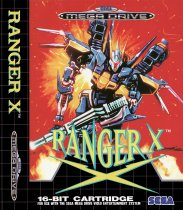 Ranger X (Sega Mega Drive / Genesis (VGM))