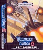 Thunder Force II (Sega Mega Drive / Genesis (VGM))