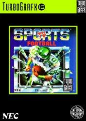 TV Sports Football (TurboGrafx-16 (HES))